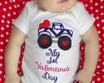 Baby boy 1st Valentine set 0 3 6 9 month