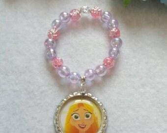 10 Rapunzel Bracelets Party Favors