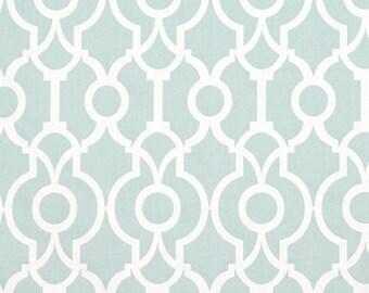 Snowy Blue Backdrop Lyon 1 Yard Remnant. 36 Inches- Premier Prints Lyon Backdrop Snowy Home Decor - Fabric by the Yard