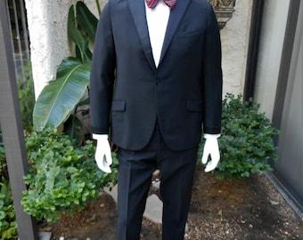Vintage 1960 Chipp Black Tuxedo - Size 40/41