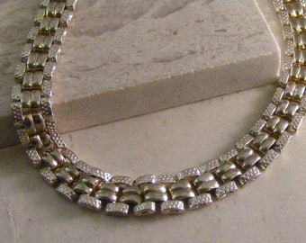 Sterling Silver Wide Link Bracelet Lot 4917