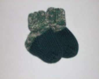 """Wool Blend Baby Socks 2 1/2"""" Foot"""
