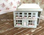 Custom Shabby Handpainted Dolls Dollhouse Miniature Nursery 1:144