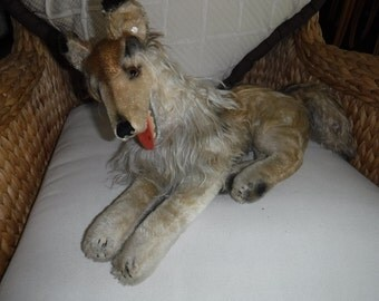 """Steiff Collie Dog 22"""" made from 1950-1968"""