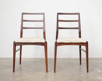 Pair of Mid Century Teak Chairs
