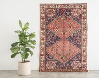 KASRA 4.5x6.5 Hand Knotted Persian Wool Rug