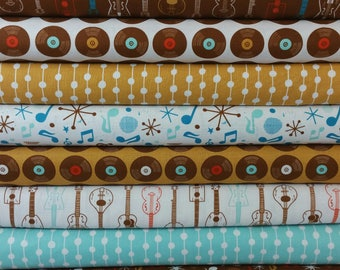 Folk Melody Bundle from Blend Fabrics (8 Fabrics Total)