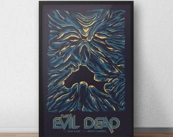 Evil Dead Necronomicon 12 x 18 Inch Poster - Bruce Campbell - Sam Raimi - Book of the Dead