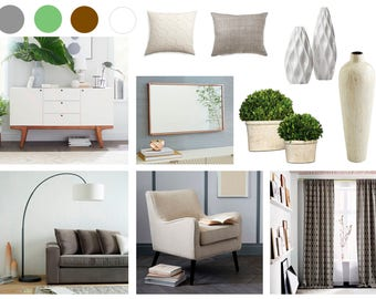 Interior Design E Service Online Mood Board