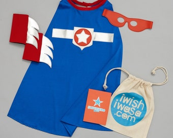 NEW*** SUPERSTAR costume - superhero gift set
