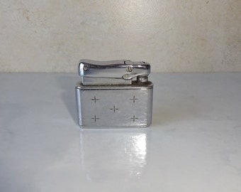 Vintage Lighter Kreisler West Germany Colibri Kreisler Pocket Lighter Engraved