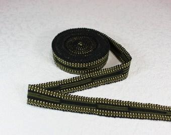Handmade Border (6 yards), Woven Border, Cotton Ribbon, Grosgrain Ribbon, Dress Border, Border Trim, R160