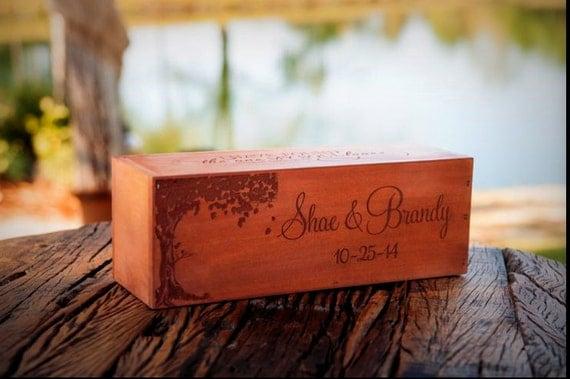 Wine Box, Rustic Wine Box, Wine Box, Love Letter Box, Wedding Gift ...