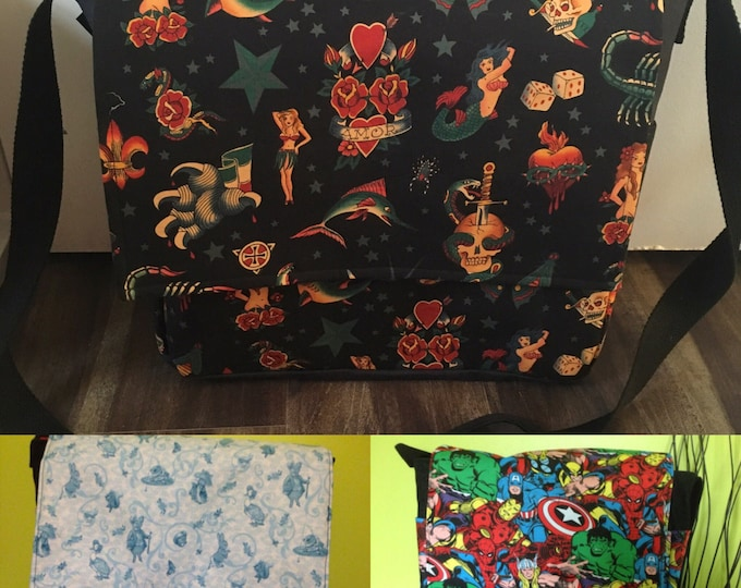 Handmade Diaper Bag in your choice of fabric
