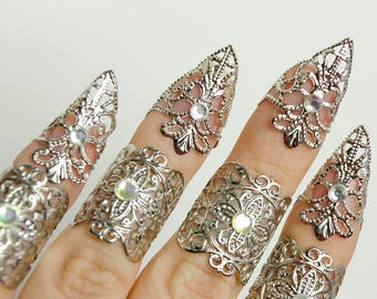 Silver elven claws