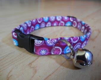Purple CAT COLLAR Breakaway kitten collar