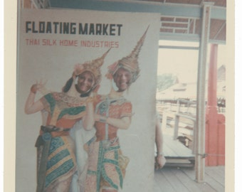 Floating Market Thailand Vintage Arcade Carnival Photo Booth photography old photo Social Realism Photography modern photos snapshot
