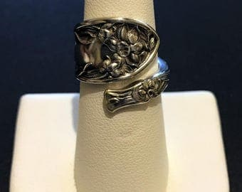 Narcissus 1908 Demitasse Spoon Ring