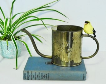 Mod Style Brass Watering Can- Holland Brass- FTDA