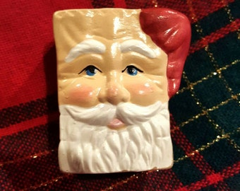 Mini Santa Ceramic Giftbag