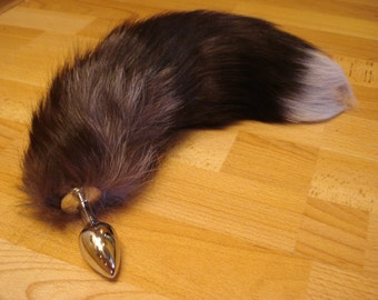 Faux Fox Tail Butt Anal Plug Sexy Bdsm Romance Sex Toy Funny Adult Product Cosplay Pet Play Bdsm