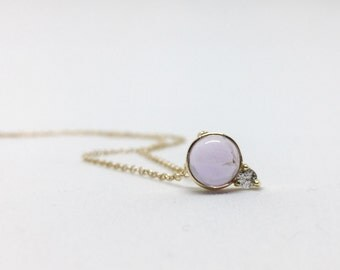 NEW Orb - Amethyst Necklace, Bridesmaids Gift, Gifts for Her