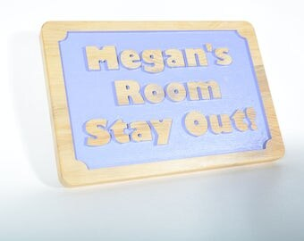Custom Name Bedroom Sign