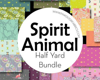 PRESALE - Spirit Animal - Tula Pink for Free Spirit - Half Yard Bundle