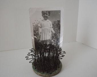 Vintage Hairpin Flower Frog #4, Blue Ribbon Flower Holder Company, Garden &  Industrial Decor, Flower Arranging.