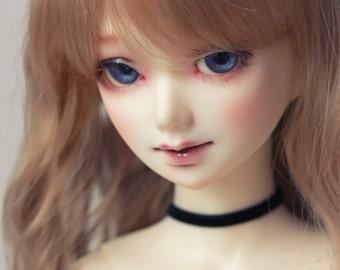 SD/DD Classic Black velvet doll choker