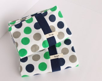 Flannel Pillowcases Polka Dot Gray Green Blue Seattle Seahawks Bedding Pillow Cotton Adoption Fundraiser