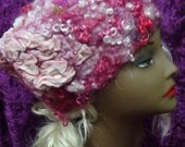 Easter Special Felted hat, Cute, summer, hat, hand made, in USA, Organic, Fairy hat, wearable art, costume art, fantasy hat, whimsical hat,