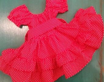 Little Red Polka Dot Dress