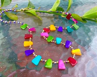 Multi-Color Bright Necklace