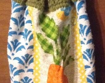 Crochet hand towel