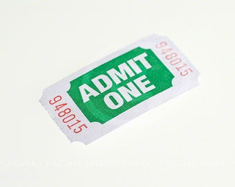 Ticket Clipart, Raffle Ticket Photo, Photo of Event Ticket, Admit One Ticket Photo, Ticket Photo, Instant Download, Stock Image, Ticket