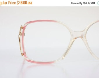 ON SALE Vintage Pearl Pink Eyeglass Frames