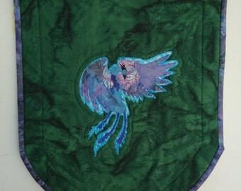 Phoenix Banner, Quilted Phoenix, Fantasy Art