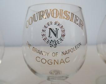 Courvoisier - Brandy of Napolean Mini Cognac Glassware - Mini Snifters