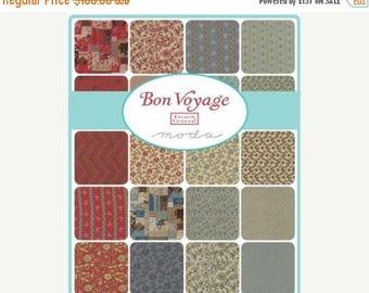 20% Off Sale Bon Voyage Fat Quarter Bundle by French General for Moda - 30 SKUS - 13700AB