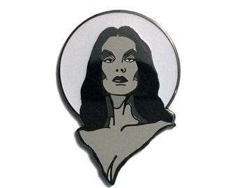 Horror Host Glow in the Dark Pin