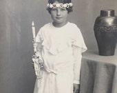 Original Antique RPPC Photograph Greti 1930