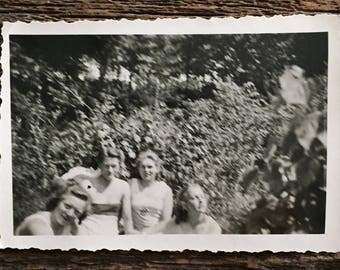 Original Vintage Photograph Summer Frolics 1943