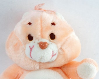 "Vtg Kenner 1984 Care Bears 13"" FRIENDSHIP Bear Plush Stuffed Animal Original"