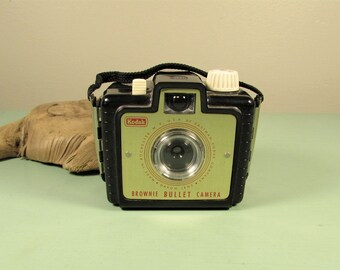 Brownie Bullet Camera -  Vintage Kodak Prop Display