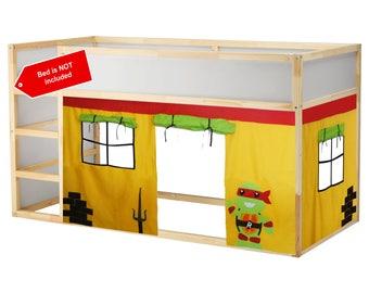 Ninja turtle inspired theme playhouse