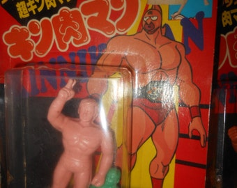moc Kinnikuman M.U.S.C.L.E. stretch figure 1983 - Japan wrestling
