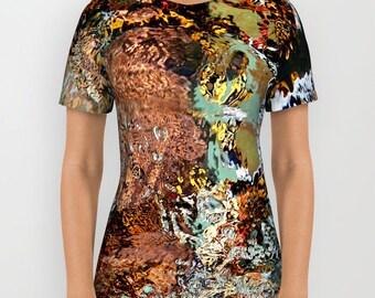 Shredded T shirt