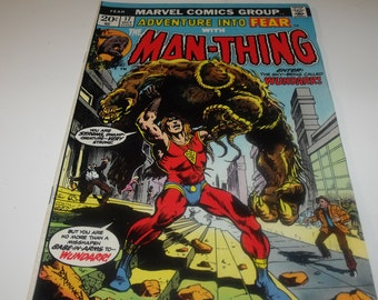 FEAR No.17 featuring Man-Thing (1973)