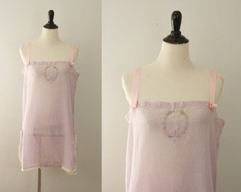 1920s step in | vintage 20s cotton lingerie
